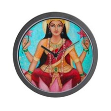 Lakshmi original art Wall Clock