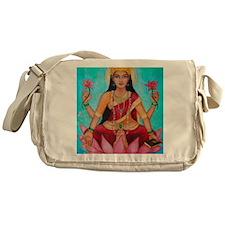 Lakshmi original art Messenger Bag