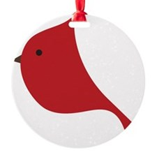 Winter Red Cardinal  Ornament