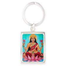 Lakshmi original art Portrait Keychain