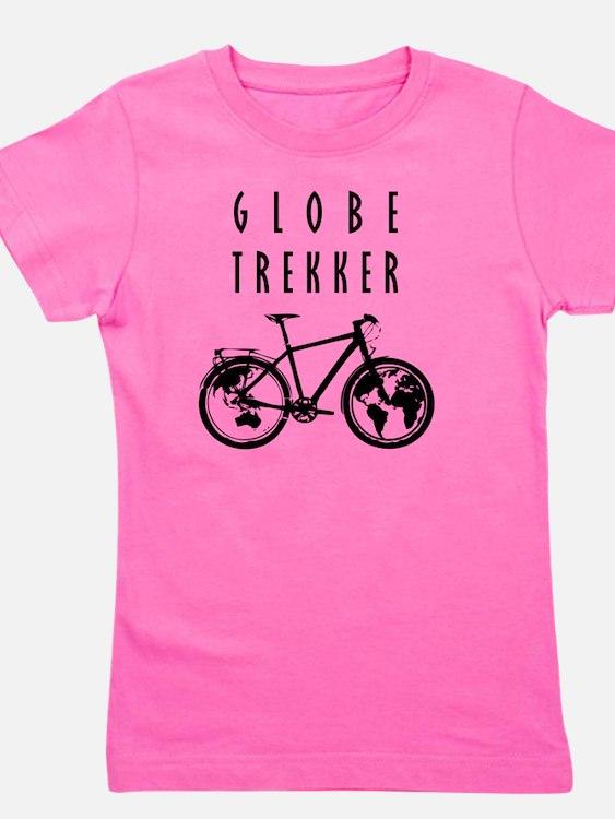bike globeREDO4white Girl's Tee
