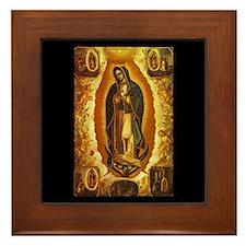 Virgen de Guadalupe Framed Tile