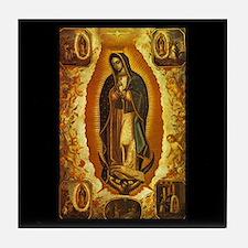 Virgen de Guadalupe Tile Coaster
