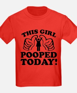 This Girl Pooped Today! T