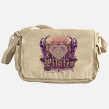 find your core pilates Messenger Bag