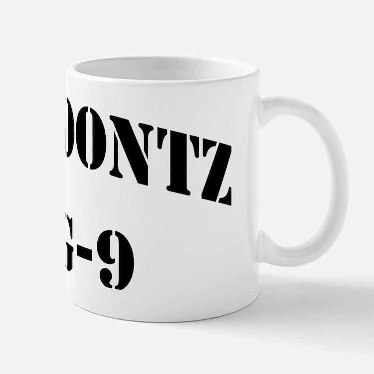 coontzdlg black letters Mug