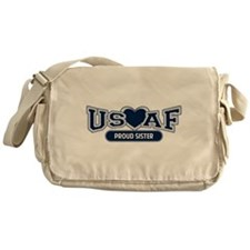Air Force Sister Messenger Bag