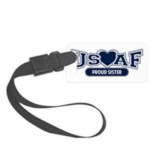 Air Force Sister Luggage Tag