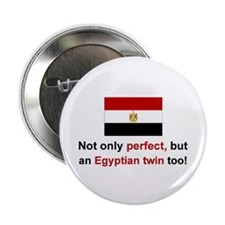 Egyptian Twins-Perfect Button