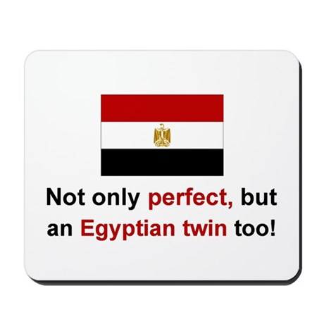 Egyptian Twins-Perfect Mousepad
