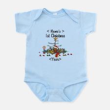 Personalized 1st Christmas Infant Bodysuit