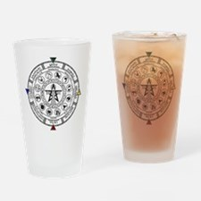 Wheel of the Year Zodiac Sabats Drinking Glass