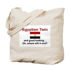 Egyptian Twins-Good Lkg Tote Bag
