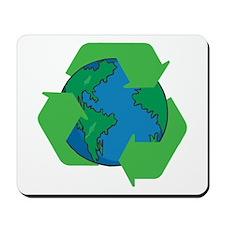 Recycle Earth Mousepad