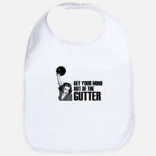 Mind out of the Gutter - Bowler Bib