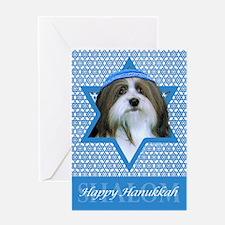 Hanukkah Star of David - Neezer Greeting Card