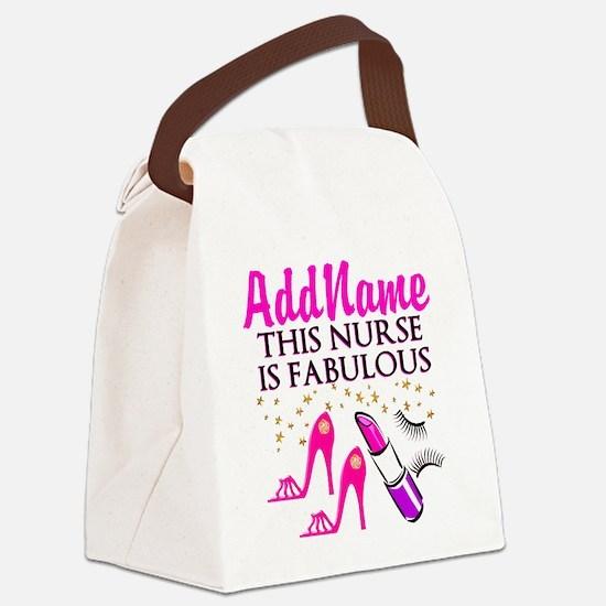 FABULOUS NURSE Canvas Lunch Bag