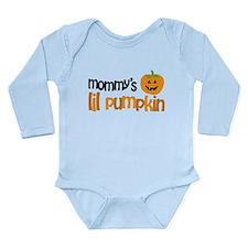 Mommy's Lil Pumpkin Long Sleeve Infant Bodysuit