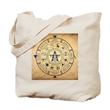 Wheel of the Year Zodiac Sabbats Tote Bag