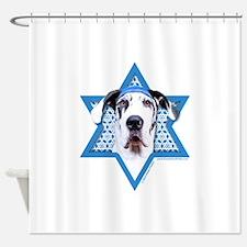 Hanukkah Star of David - Dane Shower Curtain