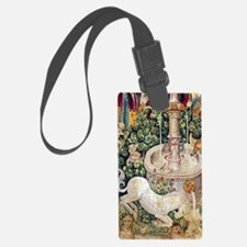 Unicorn Tapestry Luggage Tag