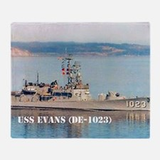 evans framed panel print Throw Blanket