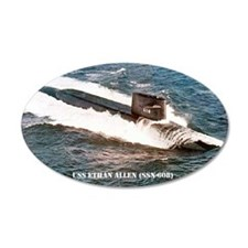 e allen ssn large poster Wall Decal
