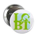 """LGBT Tropo Pop 2.25"""" Button (100 pack)"""