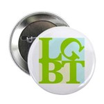 """LGBT Tropo Pop 2.25"""" Button (10 pack)"""