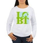 LGBT Tropo Pop Women's Long Sleeve T-Shirt