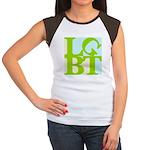 LGBT Tropo Pop Women's Cap Sleeve T-Shirt