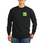 LGBT Tropo Pocket Pop Long Sleeve Dark T-Shirt