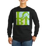 LGBT Tropo Pop Long Sleeve Dark T-Shirt