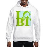 LGBT Tropo Pop Hooded Sweatshirt