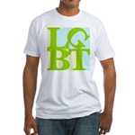 LGBT Tropo Pop Fitted T-Shirt