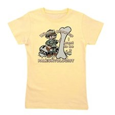 2-paleantologist_CP Girl's Tee