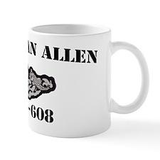 eallen ssbn black letters Mug