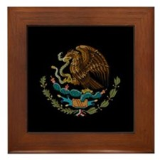 Mexico - Mexican Eagle Framed Tile