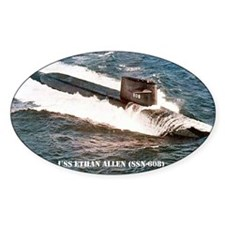 e allen ssn sticker Stickers