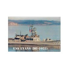 evans greeting card Rectangle Magnet