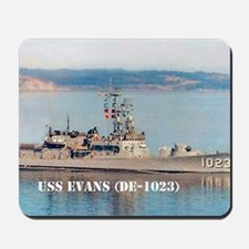 evans greeting card Mousepad