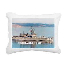 evans greeting card Rectangular Canvas Pillow