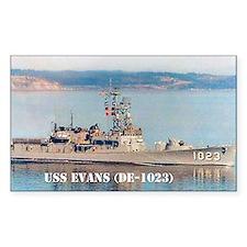 evans greeting card Decal
