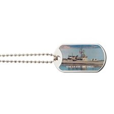 evans large poster Dog Tags
