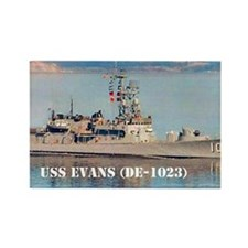 evans postcard Rectangle Magnet