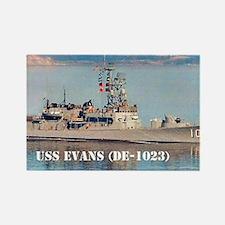 evans postcard Rectangle Magnet