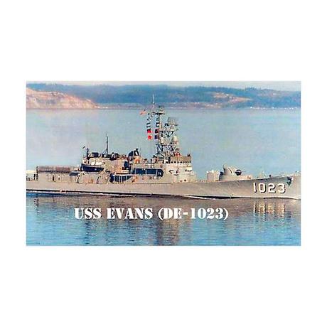 evans postcard 35x21 Wall Decal