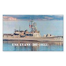 evans postcard Decal