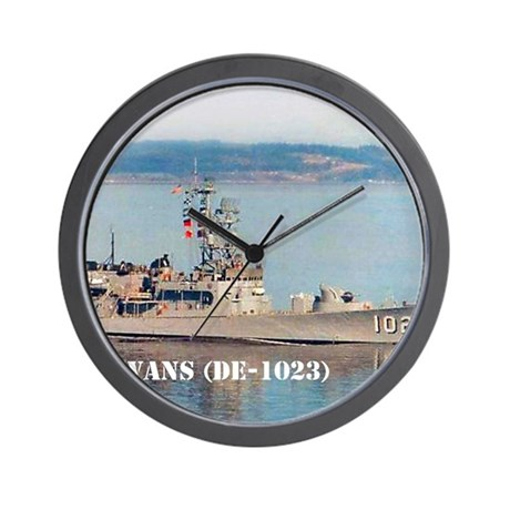 evans small poster Wall Clock