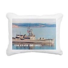 evans small poster Rectangular Canvas Pillow